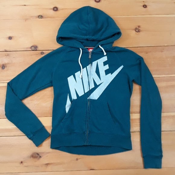 Nike Tops | Rally Signal Logo Hoodie Sweatshirt S | Poshmark